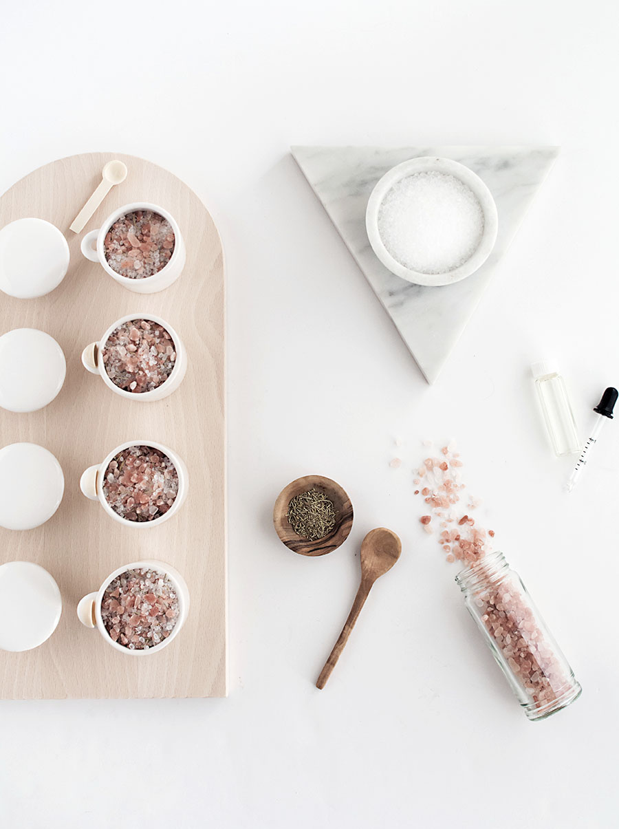 Picture Of diy grapefruit rosemary bath salts  3
