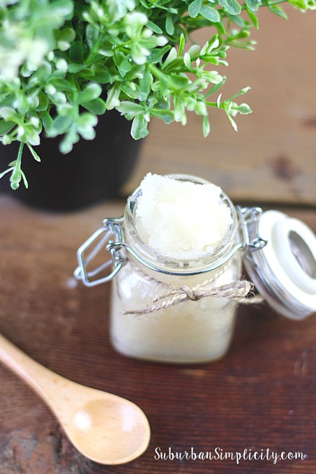 Scented DIY Lavender Vanilla Sugar Scrub