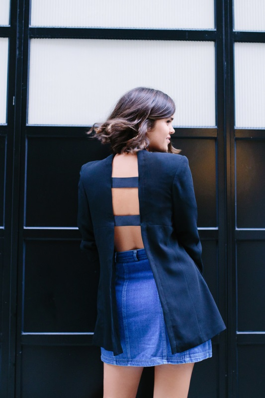 Frisky DIY Open Back Jacket To Try