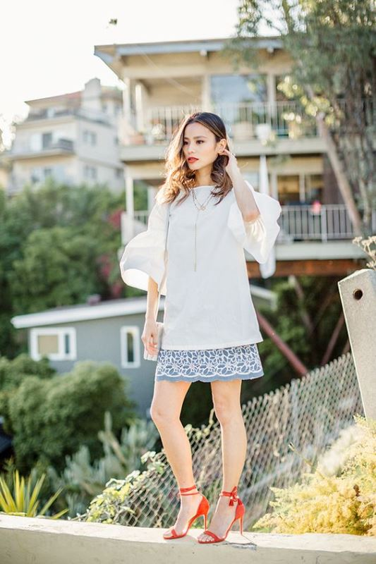 How To Rock Bell Sleeves: 20 Fashionable Looks To Recreate