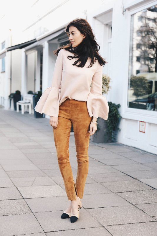 Picture Of How To Rock Bell Sleeves 20 Fashionable Looks