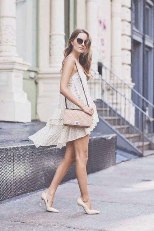 Picture Of how to wear swing dress this summer 18 stylish looks to recreate  3