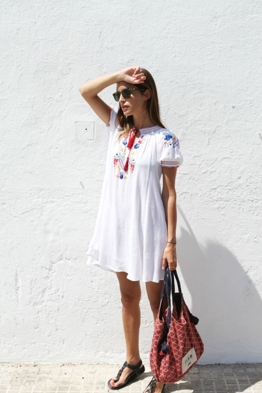 Picture Of how to wear swing dress this summer 18 stylish looks to recreate  5