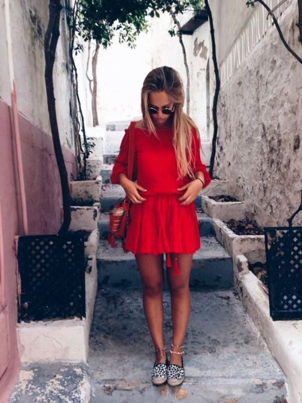Picture Of how to wear swing dress this summer 18 stylish looks to recreate  6