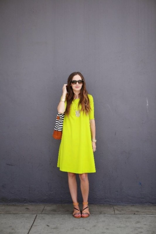 Picture Of how to wear swing dress this summer 18 stylish looks to recreate  8