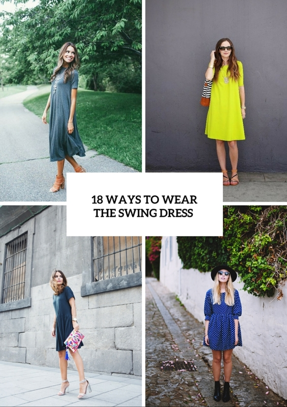 07d1fdd9af9 How To Wear A Swing Dress This Summer  18 Stylish Looks - Styleoholic