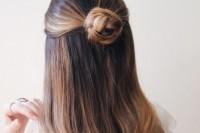 romantic-sleek-diy-braided-bun-to-make-2