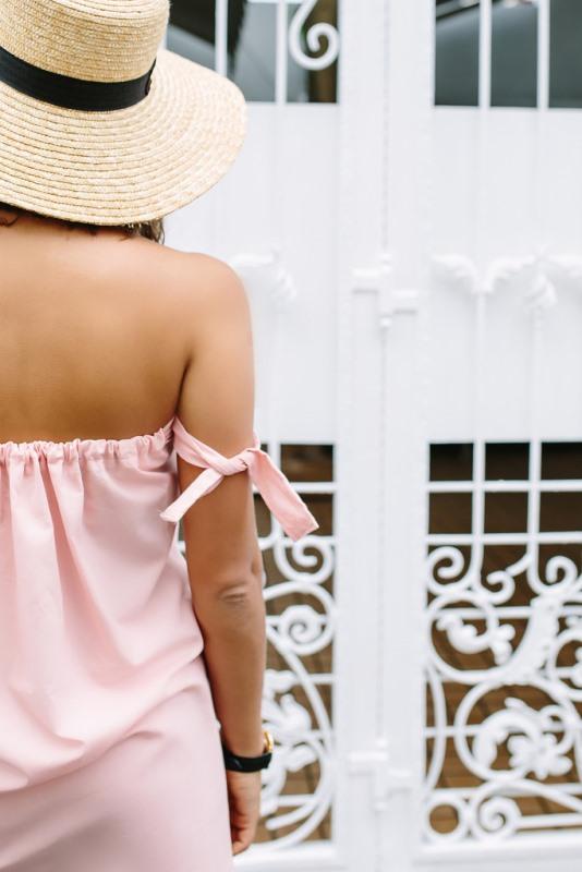 Trendy DIY Off The Shoulder Dress To Make For Summer