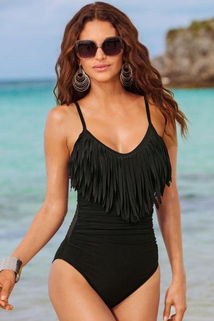 Sexy Fringe Swimsuit Ideas For Summer