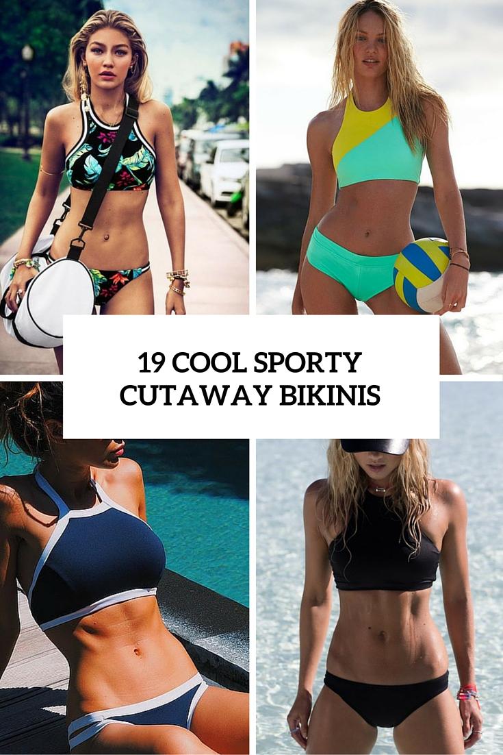 19 Cool Sporty Cutaway Bikinis That You Should Try