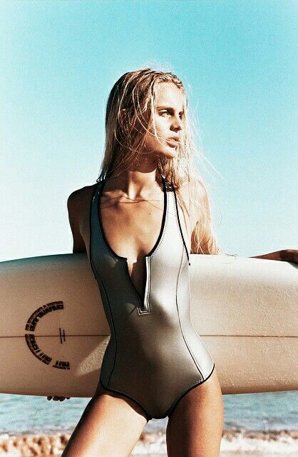 metallic sporty one piece swimsuit