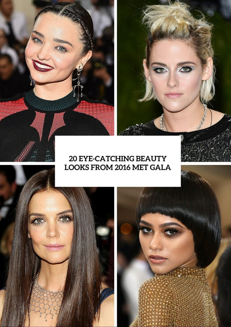 20 Most Eye-Catching Looks From 2016 Met Gala To Get Inspired