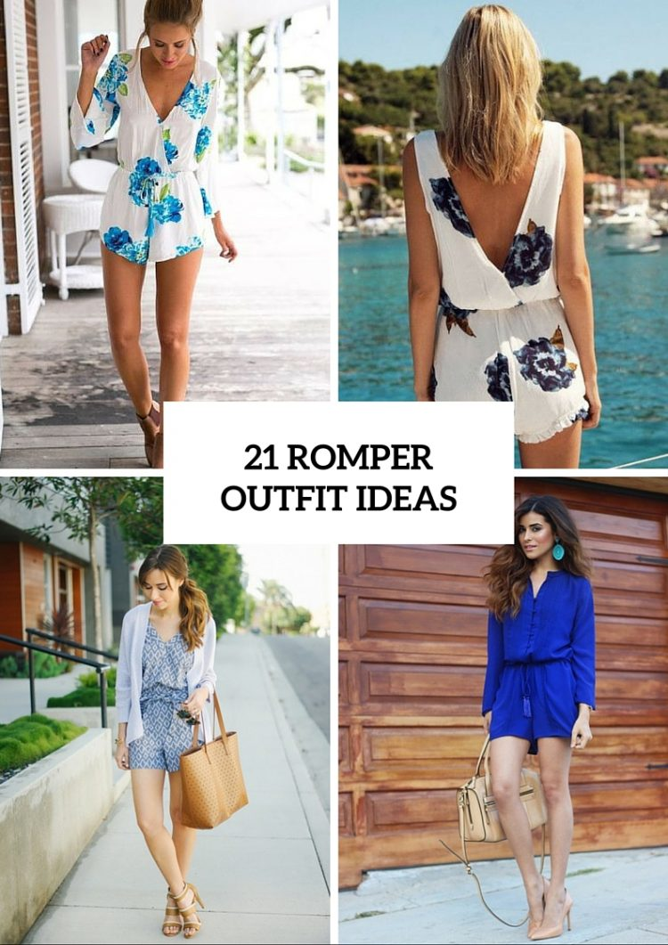 21 Delightful Romper Outfit Ideas For This Season