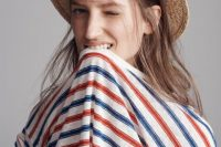 21 Outfit Ideas With Straw Hats For Summer 11