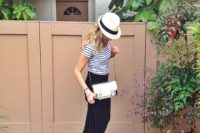 21 Outfit Ideas With Straw Hats For Summer 5