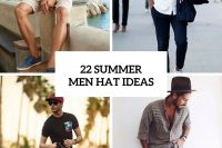 22 Awesome Men Hat Ideas For Summer Days
