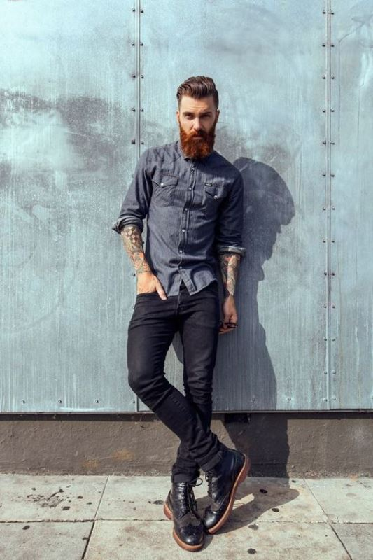 995f7a30304 How To Wear Men s Skinny Jeans  3 Useful Tips And 23 Looks To ...