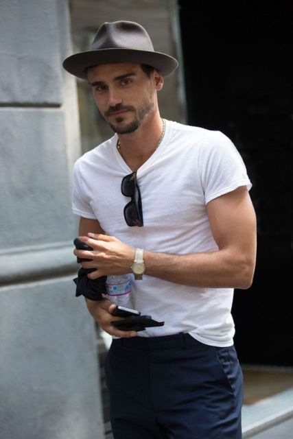 22 Cool Men s Summer Hat Ideas - Styleoholic 1521bd34f0c