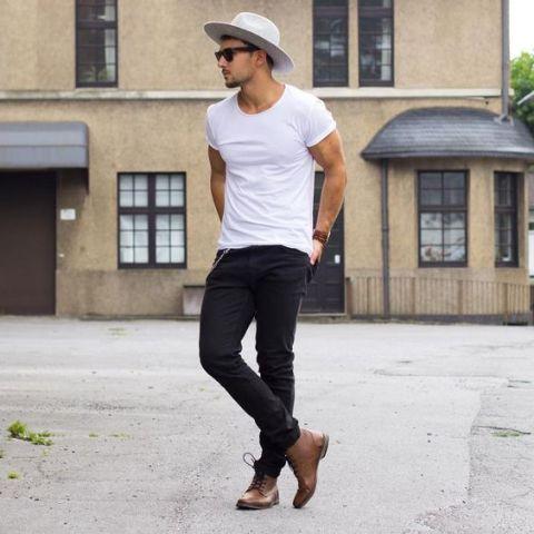 22 Cool Men s Summer Hat Ideas - Styleoholic 1521bd34f0c