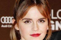 Emma Watson's Parted Fringe