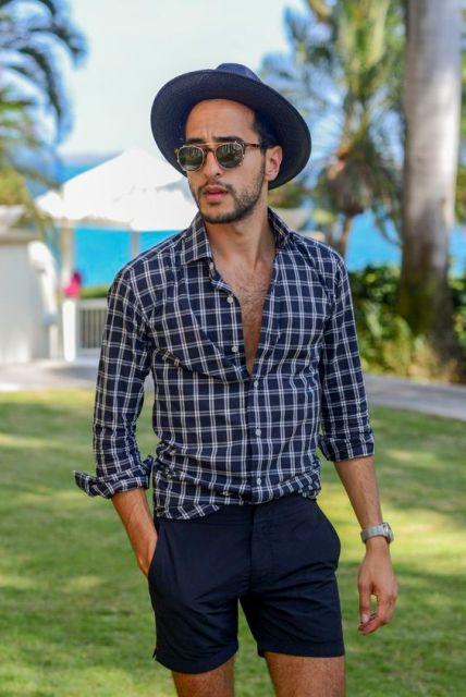 1b51dcc1a74 22 Cool Men s Summer Hat Ideas - Styleoholic
