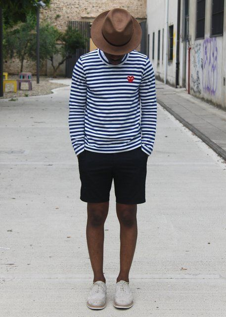 Look with hat and shorts