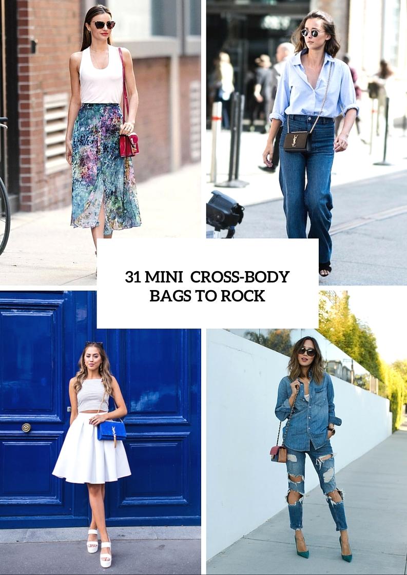 Mini Cross Body Bags To Welcome Summer Season In Style