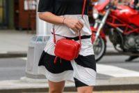 Mini Red Square Cross-Body Bag