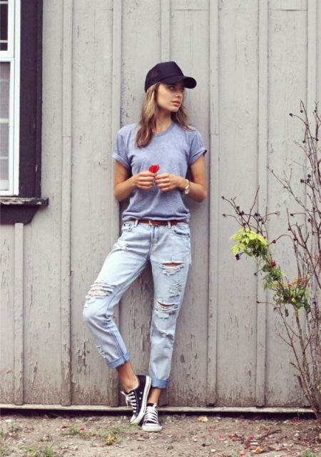 22 Summer Girl Outfits With Baseball Caps To Try - Styleoholic
