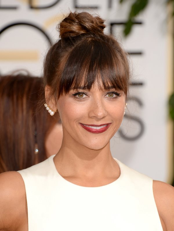 Rashida Jones's Piecey Fringe