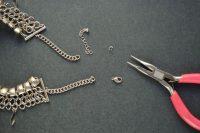 Stunning DIY Bandanna Metal Necklace 4