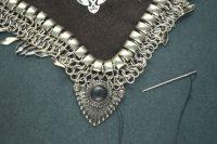 Stunning DIY Bandanna Metal Necklace 6