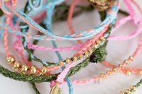 Unique DIY Braided Bracelets 4