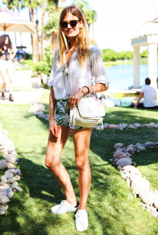 White Fringe Cross-Body Bag