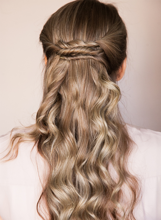 Picture Of chic diy braided updo for formal events  3