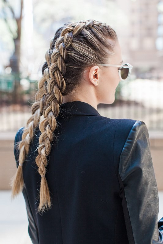 Chic DIY Double Dutch Braids To Try
