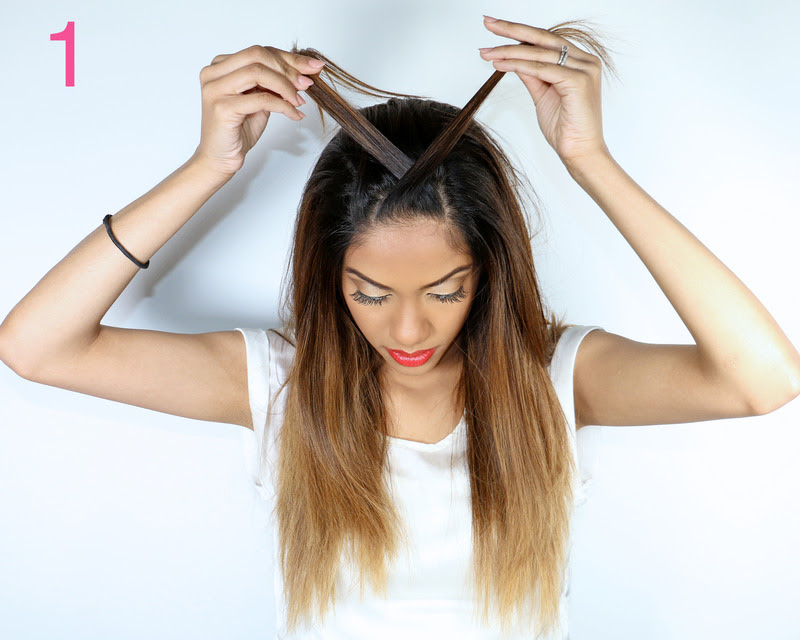 Picture Of cool diy fishtail braid ponytail to make yourself  2