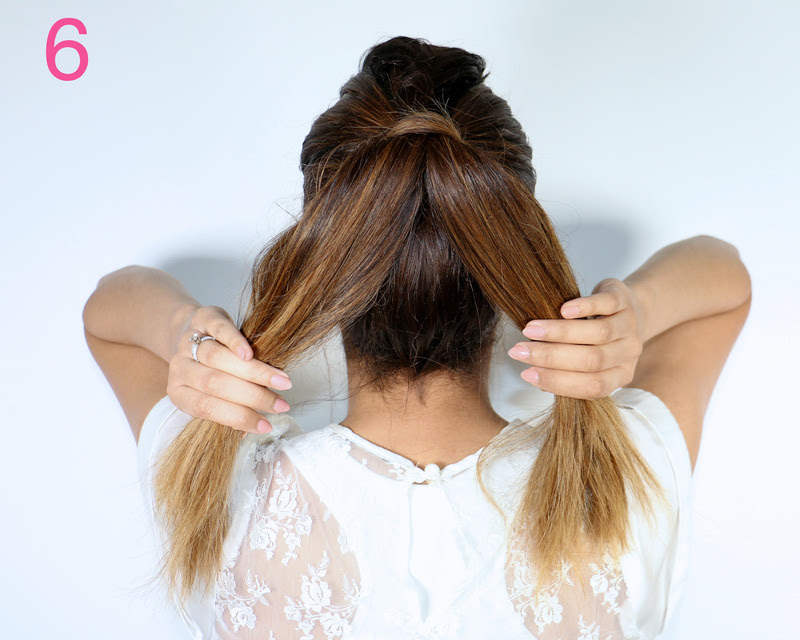 Picture Of cool diy fishtail braid ponytail to make yourself  7