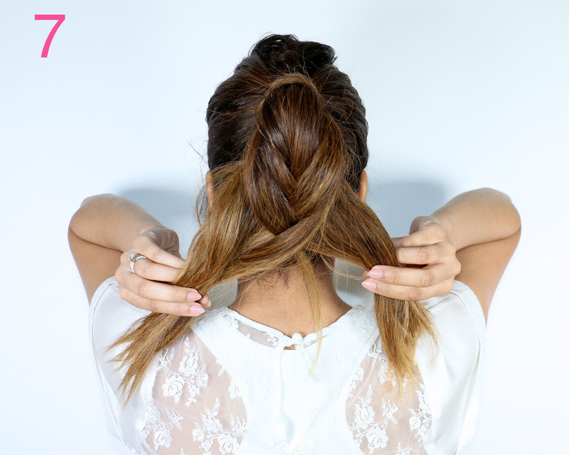 Picture Of cool diy fishtail braid ponytail to make yourself  8
