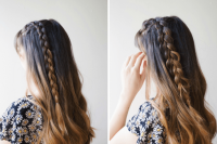 Cute DIY Simple Braided Ponytail