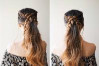 DIY Simple Braided Ponytail