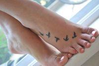 02 birds foot tattoo