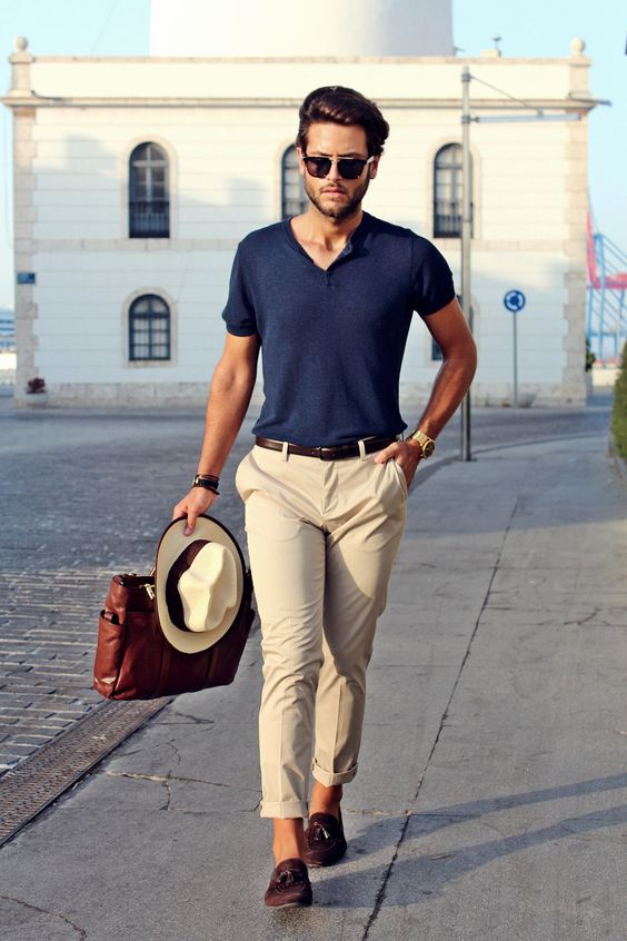 Forget flipflops and look for comfy and stylish loafers, they are always in trend for summer.