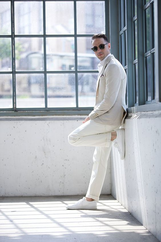 20 All White Outfits For Men To Rock This Summer Styleoholic