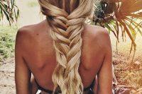04 loose summer fishtail braid