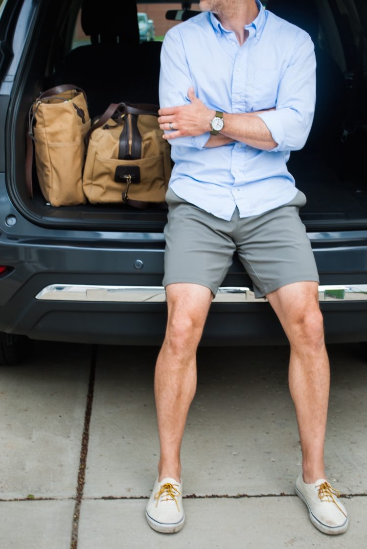 A perfect silhouette and length make these shorts ideal for any summer look.