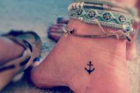 05 anchor foot tattoo