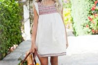 06 embroidered boho slip dress