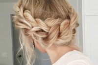 06 loose braided updo