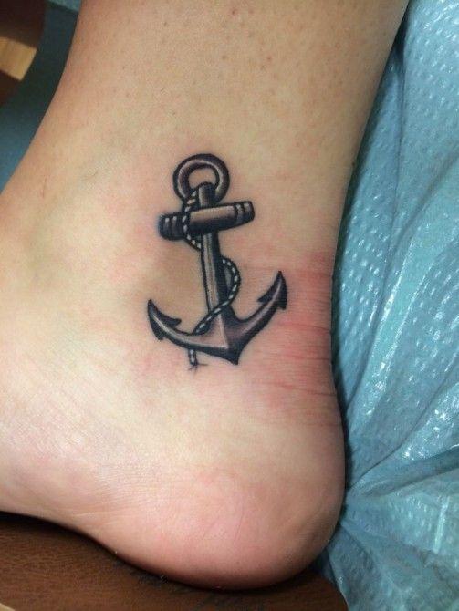 sea anchor tattoo